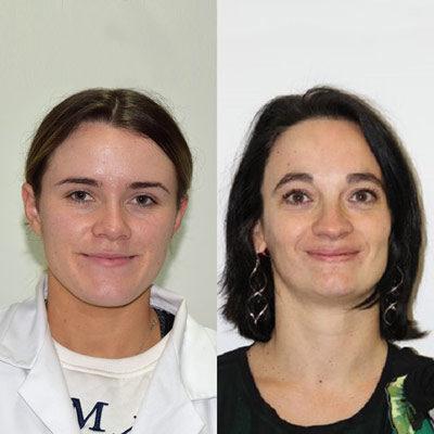 Rachael Kay & Ségolène Sarrailh : Rachael Kay, i2c pharma Services, UK & Ségolène Sarrailh, Aptar Pharma, France